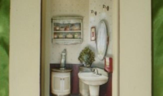 quadro decorativo banheiro Quadros decorativos para banheiro