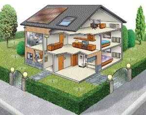 CASA INTELIGENTE 300x237 Projetos de Casas Grátis