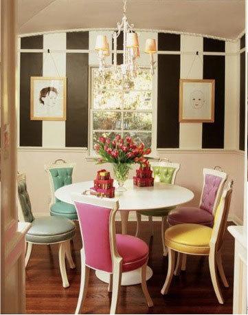 Cadeiras coloridas para cozinha1 Cadeiras Coloridas para Cozinha