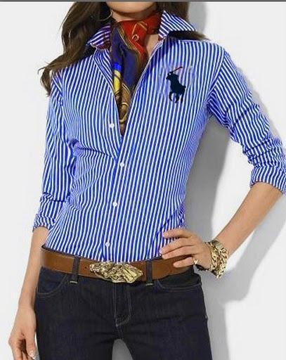 Camisas Sociais 1 238x300 Camisas Femininas 2011 2012
