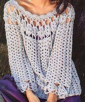 Como Fazer uma Blusa de Crochê Como Fazer uma Blusa de Crochê
