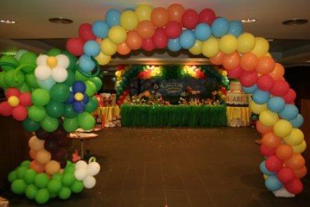 Como fazer decoração com balões 2 Como Fazer Decoração Com Balões