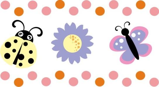Decoração Quarto infantil Adesivos de Parede 4 Decoração Quarto infantil   Adesivos de Parede