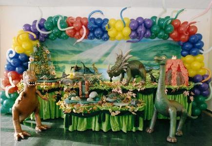 Festa de aniversário com tema de dinossauros 2 Festa De Aniversário Com Tema De Dinossauros