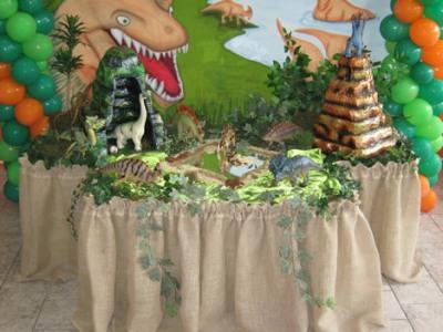 Festa de aniversário com tema de dinossauros Festa De Aniversário Com Tema De Dinossauros