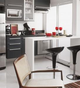 Fotos de Bancadas Para Cozinha2 273x300 Cozinha Americana com Bancada, Fotos