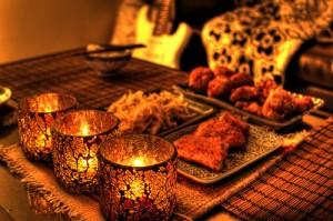 Jantar a Luz de velas 300x199 Dicas para jantar a luz de velas