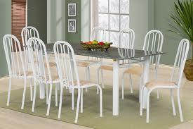 Mesa de granito com 8 cadeiras3 Mesa de Granito Com 8 Cadeiras