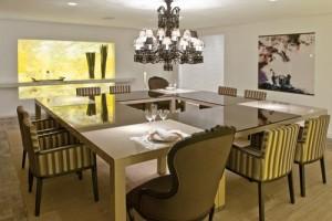 Sala 11 300x200 Melhor Cor para Sala de Jantar
