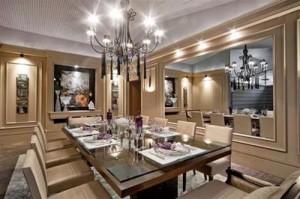 Sala 31 300x199 Melhor Cor para Sala de Jantar