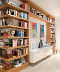 biblioteca3 249x300 Como Organizar uma Biblioteca