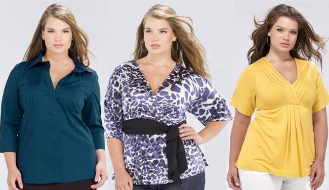 blusas e camisas Batas Femininas Tamanho Grande