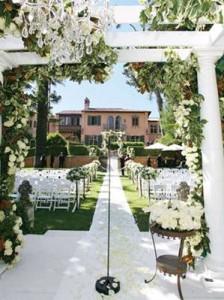 casar em casa decoração jardim1 224x300 Decoração de Casamento de Dia, Sugestões, Fotos