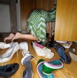 closet e sapatos Como Organizar os Sapatos no Armário