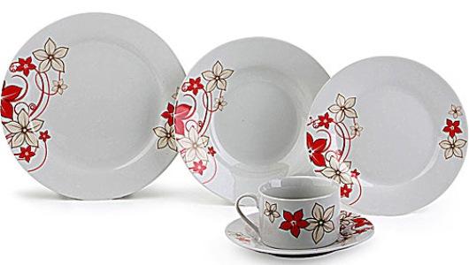Jogo De Sala De Jantar Ponto Frio ~ conjunto de jantar 20 peças modelos preços 1 Conjunto De Jantar 20