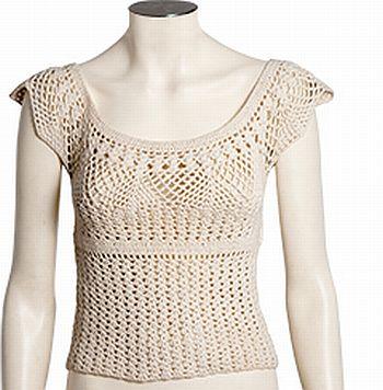 Croche2 Como Fazer Uma Blusa De Croch