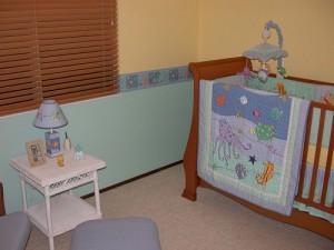 decoração barata para quarto de bebe 300x225 Como Decorar Quarto de Bebe Gastando Pouco