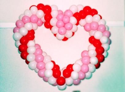 decoração com corações 2 Decoração Com Corações