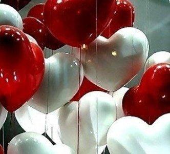 decoração com corações Decoração Com Corações