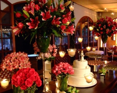decoração com flores para festas fotos 1 Decoração Com Flores Para Festas, Fotos