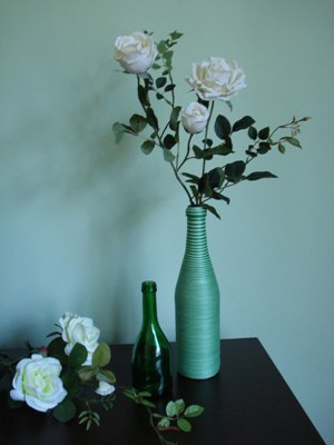 decoração com garrafas recicladas 2 Decoração Com Garrafas Recicladas