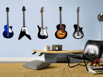 decoração com instrumentos musicais 1 Decoração Com Instrumentos Musicais