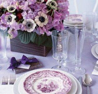 decoração de casamento em lilás Decoração De Casamento Em Lilás