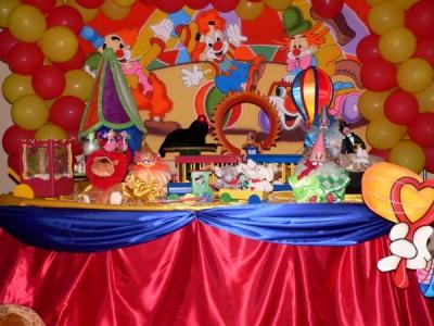 decoração de festa infantil circo 2 Decoração De Festa Infantil Circo
