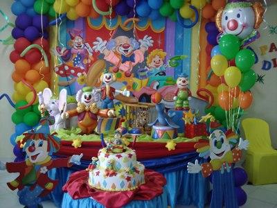 decoração de festa infantil circo Decoração De Festa Infantil Circo