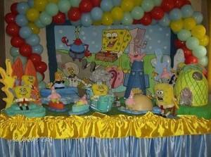 decoração para mesa infantil 3 300x223 Decoração para Centro de Mesa de Festa Infantil
