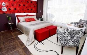 decoração quarto de casal 300x191 Decoração de Dormitórios de Casal