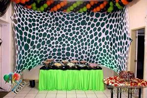 decoracao malhas tencionada1 300x200 Decoração Com Malhas Tensionadas