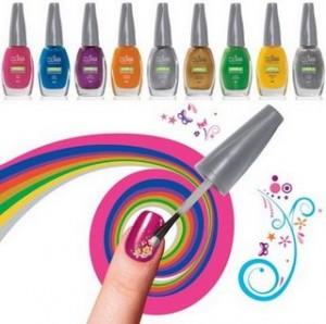 esmaltes colorama artistica1 300x298 Como Decorar Unhas Com Esmaltes