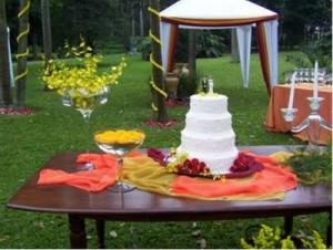 foto decoracao casamento no campo 121 300x226 Decoração de Casamento de Dia, Sugestões, Fotos
