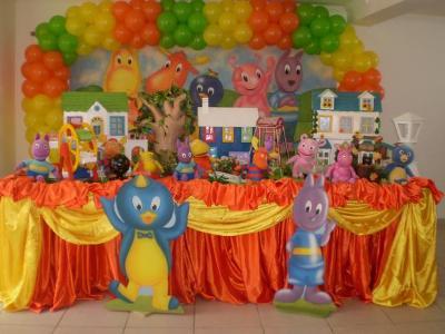 ideias de decoração de festa infantil 1 Idéias De Decoração De Festa Infantil