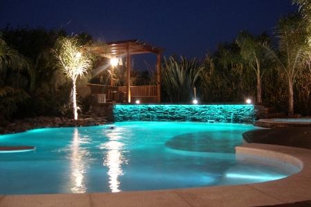 iluminação subaquatica para piscinas 2 Iluminação Subaquatica Para Piscinas