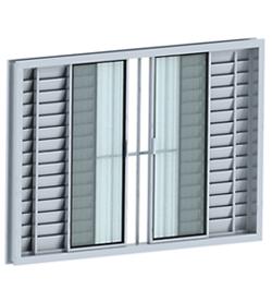 janela de aluminio com grade 6 Janelas com Grades, Preços, Onde Comprar