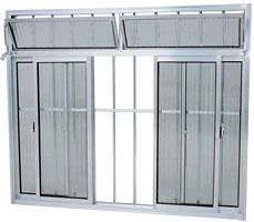 janela de aluminio com grade 8 Janelas com Grades, Preços, Onde Comprar