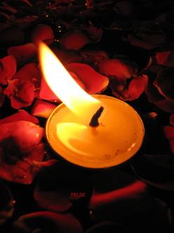 jantar a Luz de velas2 Dicas para jantar a luz de velas