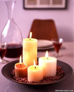 jantar romantico 1 240x300 Decoração De Mesa De jantar Romântico, Dicas