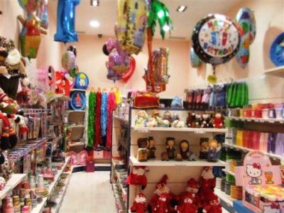 Loja de artigos para festa na 25