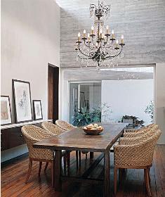 lustre clássico móveis rústicos Lustres para Sala de Jantar