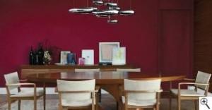 lustres diferentes 300x156 Lustres para Sala de Jantar