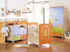mobiliario bebe selva 300x223 Decoração de quarto de bebê   como fazer?