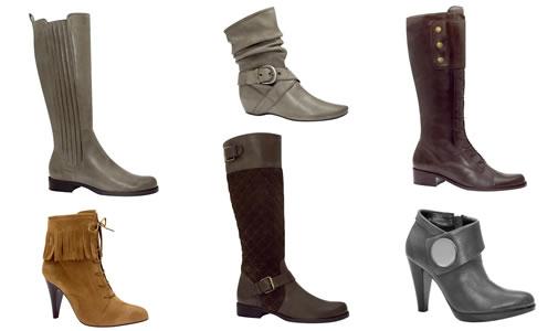 moda calcados femininos colecao inverno 2009 via uno botas Promoção de calçados feminino, onde encontrar