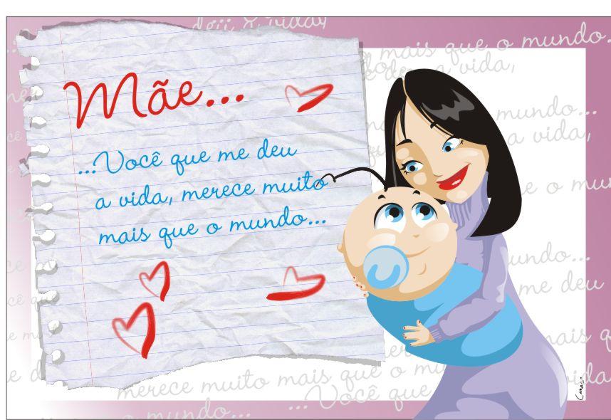 modelos de cartão para dia das mães 4 Modelos De Cartão Para Dia Das Mães