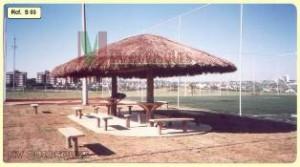 palha1 300x167 Projetos de Quiosques Residenciais