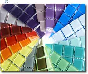 pastilha de vidro  Revestimentos Com Pastilhas, Novidades