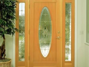porta de madeira com vidro 05 300x225 Portas de Madeira com Vidro para Sala