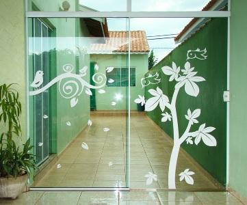 portas decoradas com adesivos 2 Portas Decoradas Com Adesivos